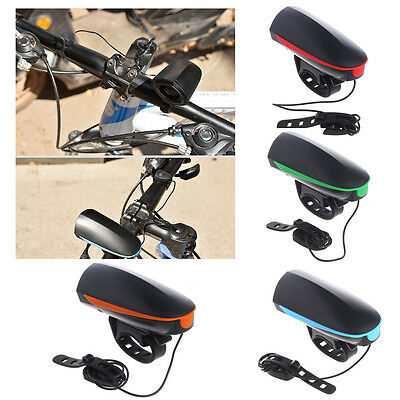 Bike Bell Ring 110db Cycling Bicycle Horn Speaker Electronic Bike Lights outdoor