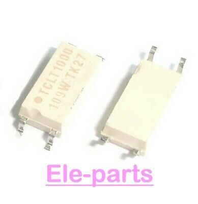5 PCS TCLT1000 SOP-4 TCLT 1000 SMD-4 Optocoupler with Phototransistor Output