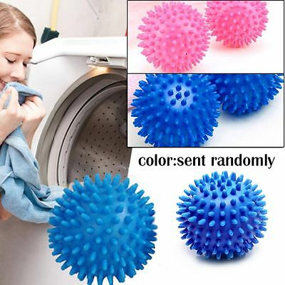 1/2/4pcs Eco Friendly Reusable Dryer Ball Replace Laundry Washer Fabric Softener