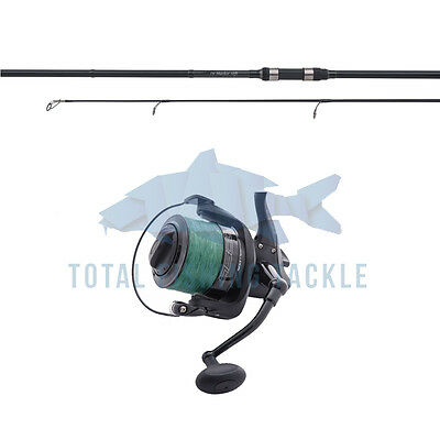 Shimano NEW Tribal TX-Spod Rod 12ft + Wychwood Dispatch Reel & Braid