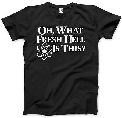Oh What Fresh Hell Is This Mens Unisex T-Shirt
