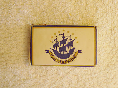 Vintage Hotel Commodore New York City Mini Souvenir Ivory Guest Soap