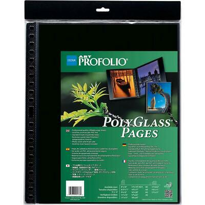 Itoya Art Profolio 18x24in Clear Pages, 10 Pages Pack #PR1824