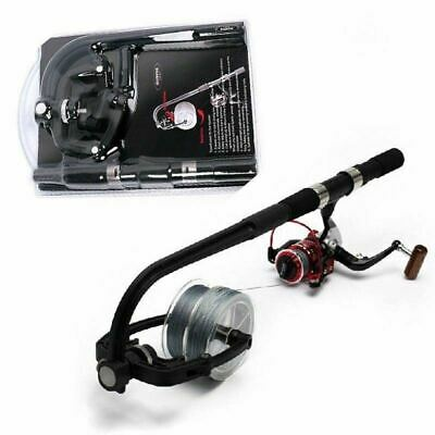 Fishing Line Winder Spooler Portable Tackle Winding System Spinning  Reel Tool