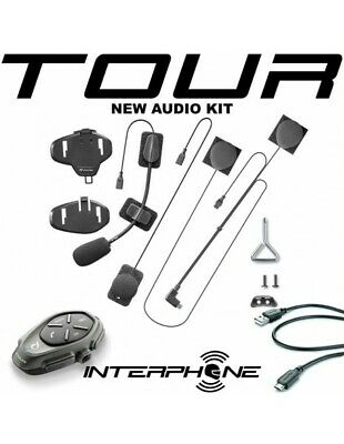 XIT Tour single Interphone Cellularline Bulk interfono moto