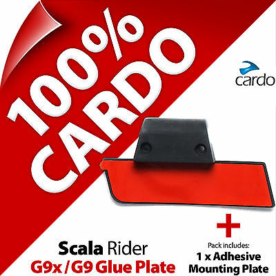 New Cardo Scala Rider Replacement Glue Plate G9x G9 Motorcycle Helmet Intercom
