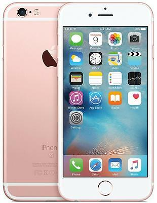 Apple iPhone 6S 16GB Rose Gold Locked To Vodafone Grade C (Touch ID & Front