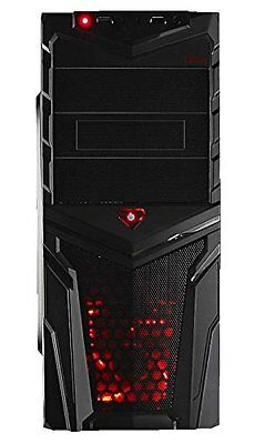 Mars Gaming MC2 V 2 Case Middle Tower per PC, Nero