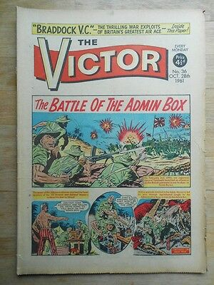 The Victor comic No. 36 from 1961