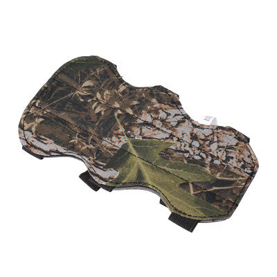 19cm Camouflage Safe Archery 3 Straps Arm Guard for Outdoor Hunting Shooting