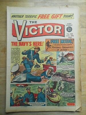 The Victor comic No. 100 from 1963