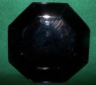 """Arcoroc ~ Octime-Black ~ Coupe Cereal / Salad Bowl 7 5/8"""""""