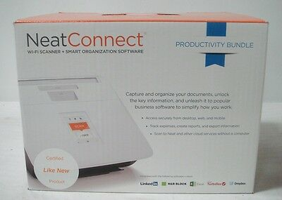 Neat Company NeatConnect Desktop Scanner Organization Factory Refurbished