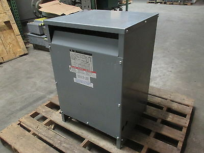 Square D 45 kVA 480 Delta to 415Y/240 45T1768H 3PH Transformer 33749-35112-005