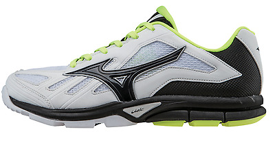 Mizuno Player's Trainer Women's Baseball Softball Turf Shoes NEW White/Black