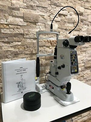 Refurbished Nidek YC1800 Ophthalmic YAG Laser w Power Table, Manual, & Warranty
