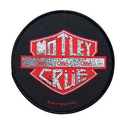 """Motley Crue """"Girls""""... Single Song Art Metal Band Music Sew On Applique Patch"""