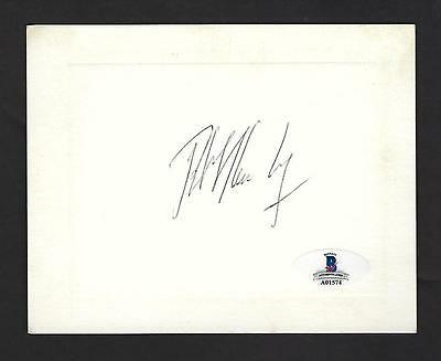 Robert Kennedy signed Invitation BAS Authenticated RFK US Attorney General