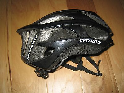 SPECIALIZED PROPERO 2 ROAD BICYCLE HELMET MENS LARGE BLACK lightweight 299g