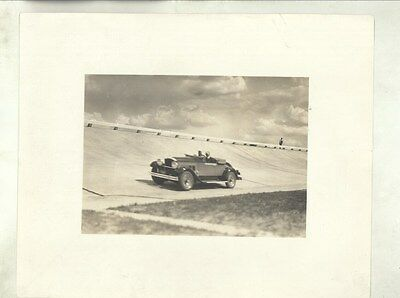 1929 1930 ? Packard Roadster Proving Ground Track ORIGINAL Factory Photo ww8759