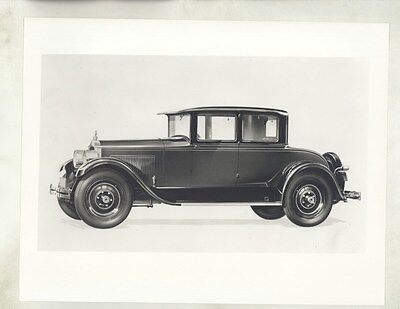 1927 ? Packard Victoria Coupe ORIGINAL Factory Photograph ww8763