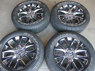 Four 2017 Ford F150 Limited Factory 20 Wheels Tires Oem Rims Pvd
