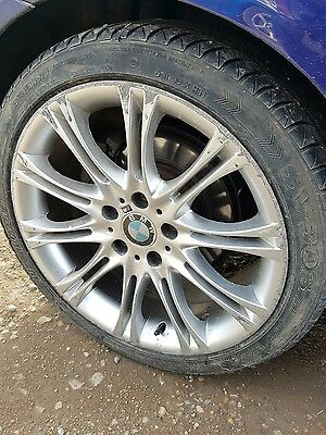 "BMW 3 Series M Sport Mv2 18"" Alloy Wheels And Tyres"