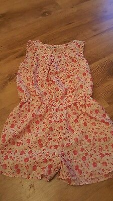 girls next summer playsuit age 6 exc cond