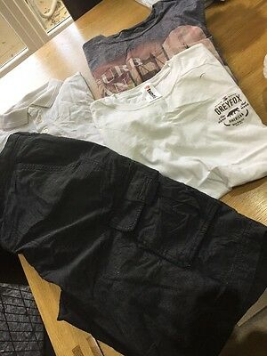 Mens shorts and top bundle size large