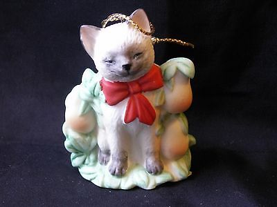 Vintage Catnippers Collection Irene Spencer Pawtridge in Purr Tree Siamese Cat