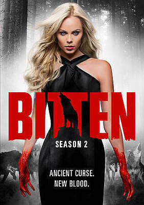 Bitten: Season 2 (DVD, 2015, 3-Disc Set) free shipping