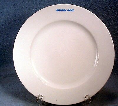 Vintage Pan Am Airlines 8.25 Inch White China Plate