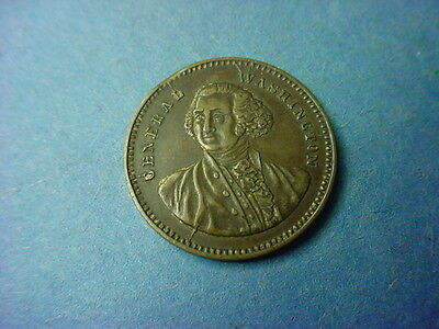 George Washington Spielmark Gaming Token c1870 Baker
