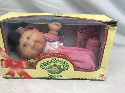 Cabbage Patch Kids Newborn  special holiday limited edition