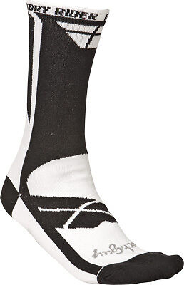 Fly Racing 350-0324S Factory Rider Socks Sm-Md White