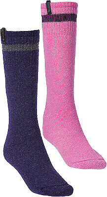 DIVAS 67827 Pink Purple Wool HW Sock