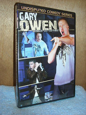 Gary Owen - Breakin Out of the Park  (DVD, 2008) Stand Up