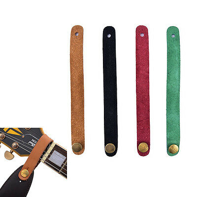 1PC Faux Leather Strap Hook Button For Acoustic /Folk/Classic Guitar Durable WF