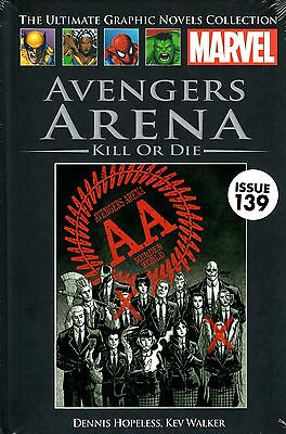 "Marvel Ultimate Graphic Novel Collection #139 ""avengers Arena"" Hard Cover"
