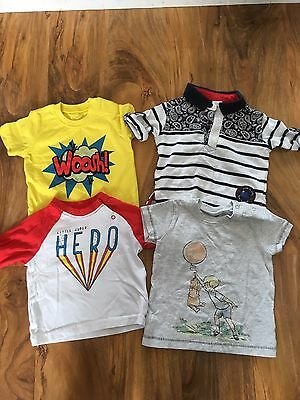 Boys 0-3 Months Bundle Of Tops Next