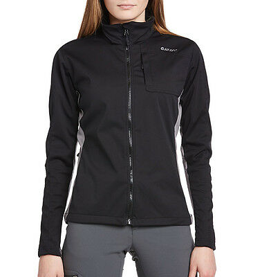 Hi-Tec Satomi 3L Soft Shell Ladies Jacket - Black