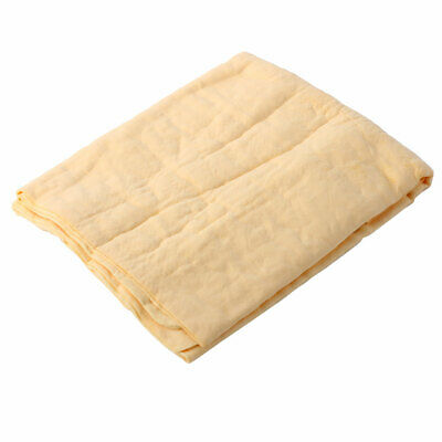 Car Furniture Synthetic Chamois Towel Clean Cham Cleaning Cloth Yellow 66 x 43cm