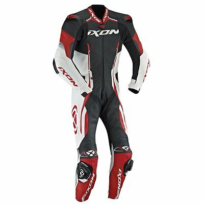 Ixon Vortex Full Race Spec One Piece Motorcycle Leathers 2017 Red