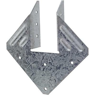 100-Simpson Strong-Tie Steel 18 Ga Rafter To Top Plate Brace Hurricane Tie H1Z