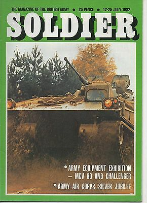 Soldier Magazine of the British Army.July1982 AAC Silver Jubilee Challenger