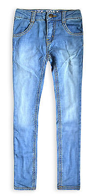 Girls Skinny Jeans New Kids Blue Jegging Stretch Jean Trouser Ages 4-14 Years