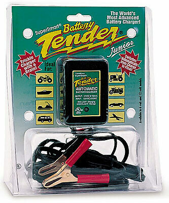 Deltran Battery Tender Junior Jr 12 Volt .75 amp Maintainer Charger New 021-0123