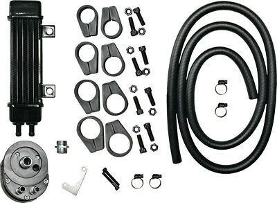 JAGG SLIMLINE OIL COOLER SYSTEM Fits: Harley-Davidson XL1200T Super Low Touring,