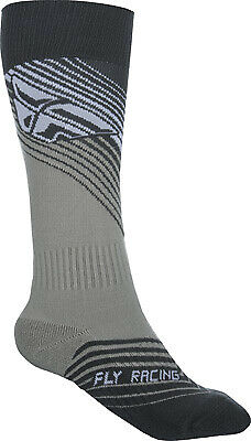 Fly Racing 350-0430S MX Sock Sm/Md Black/White Thin