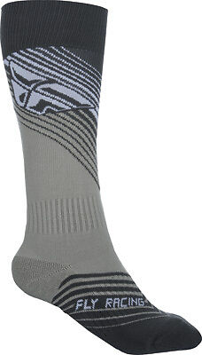 Fly Racing YTH SM MX Sock Youth Black/White Thin